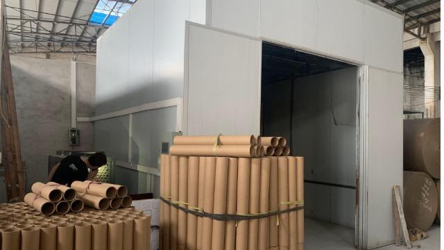 中山东升新雄------高温热泵烘干系统在纸制品纸筒烘干中的应用