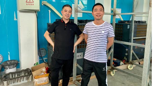 苍南林福------高温热泵烘干系统在纸制品纸筒烘干中的应用