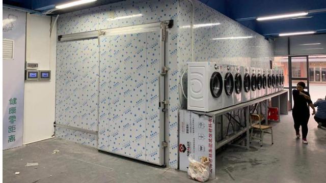 惠州金朗------高温热泵烘干系统在纺织品校服烘干中的应用