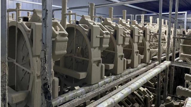 十堰光华------整体除湿干系统在大型铸造件消失模烘干中的应用
