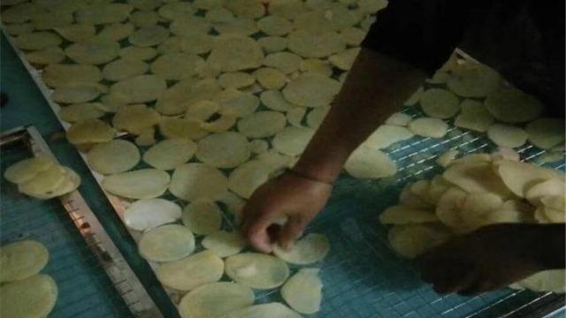 贵州贵阳家旺-----整体除湿烘干系统在蔬菜土豆片烘干中的应用