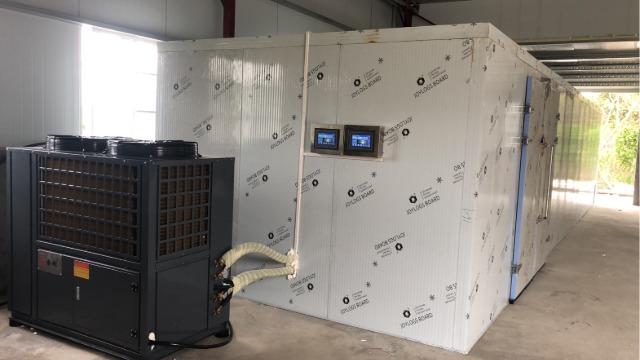 汕头南澳佳福---高温热泵烘干系统在海产品海藻烘干中的应用