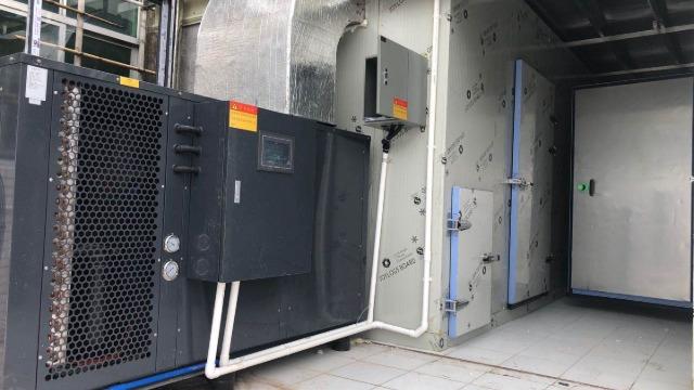 广东湛江力胜--低温除湿烘干系统在海产品鱼干烘干中的应用