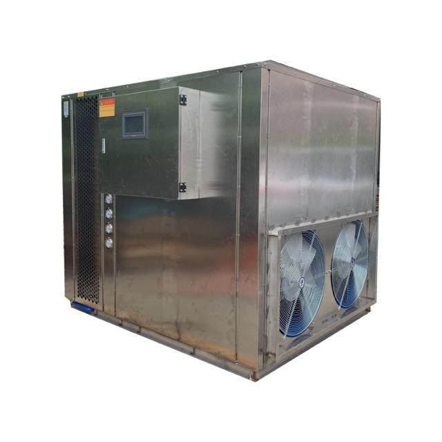 空气能热泵大型铸造件烘干机