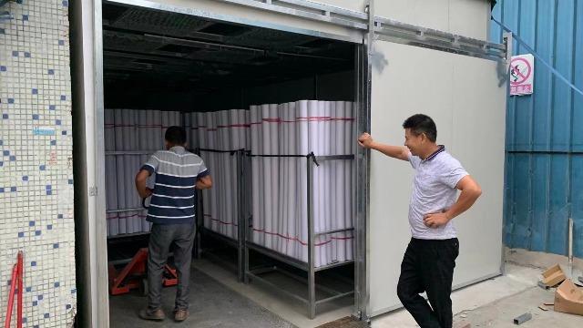 深圳怡康------高温热泵烘干系统在包装纸品纸管烘干中的应用