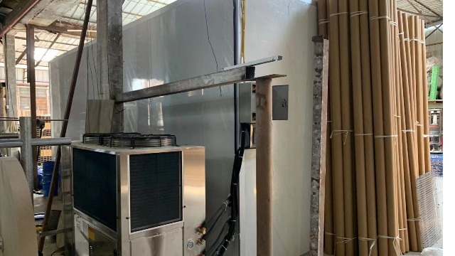 中山鸿威2------高温热泵烘干系统在纸制品纸筒烘干中的应用