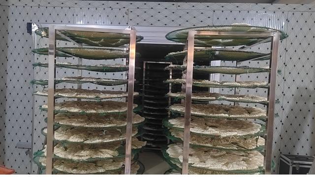 宁波慈溪敏儿-----整体除湿烘干系统在面制品面饼烘干中的应用